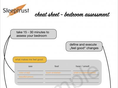Bedroom Assessment Cheat Sheet